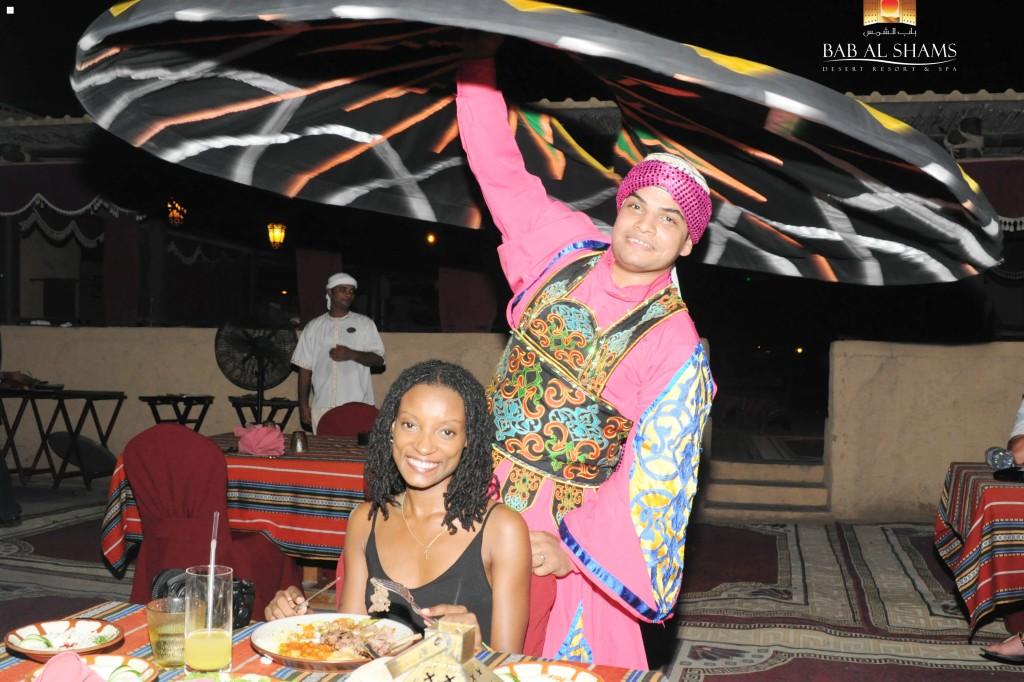 April D. Thompson Bab Al Shams Resort Dubai