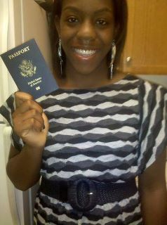 Breana of Passport Party Project Gets Her Passport