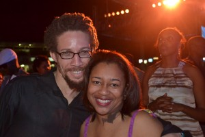 First trip to Jamaica: Tequila with Jallanzo from Dubtonic Kru Jamaica Jazz and Blues 2012