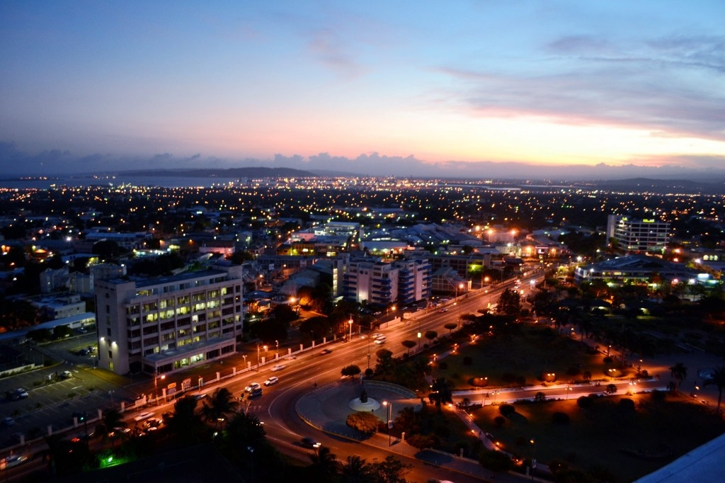 Kingston, Jamaica Skyline