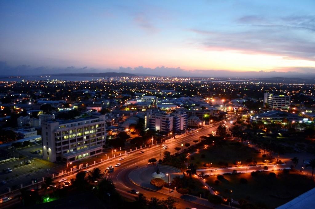 Kingston, Jamaica Skyline