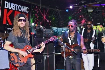 Dubtonic Kru performing at Vibes Atlanta
