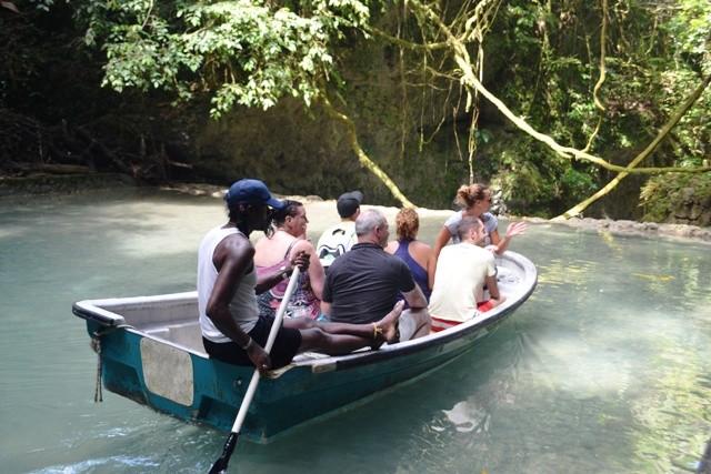 Somerset Falls Portland Jamaica Boat Ride