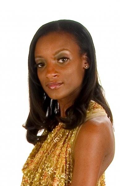 Miss Black Georgia 2008 April D. Thompson