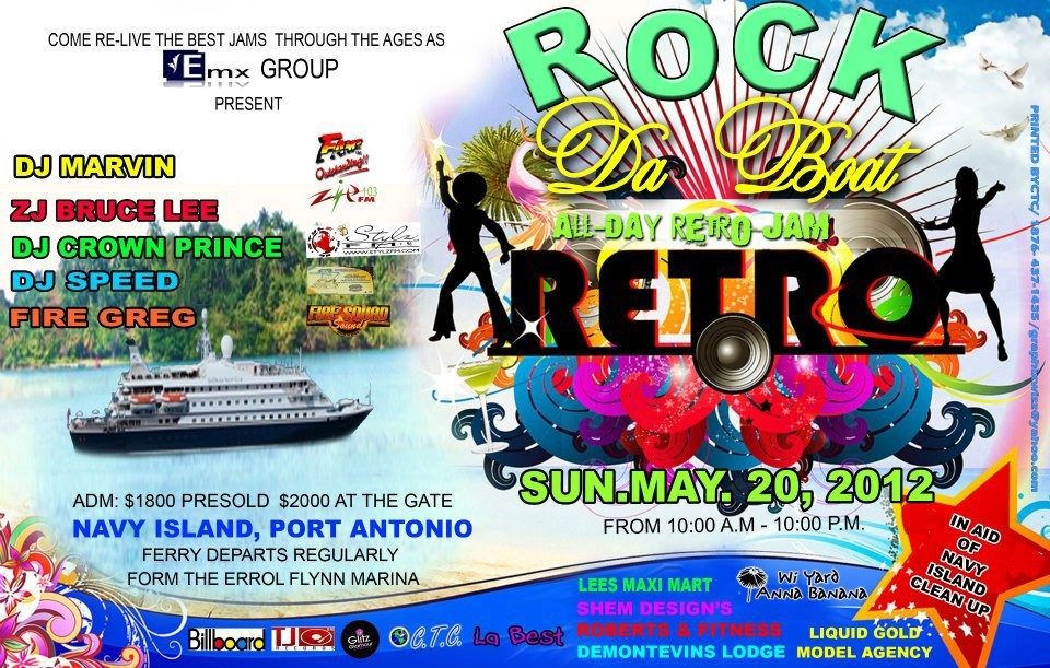 Rock da Boat Retro Jam at Navy Island