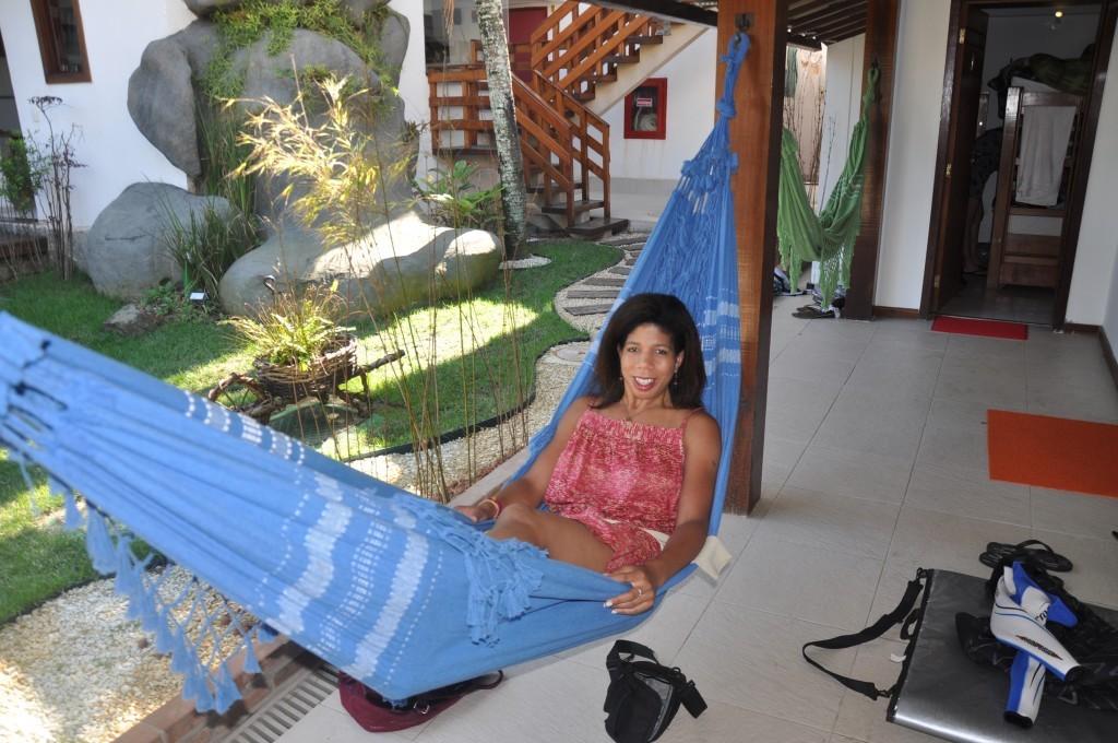 Nailah hammock RTW trip
