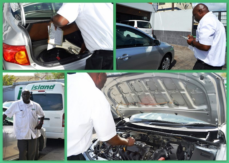 Island Car Rental Jamaica Inspection