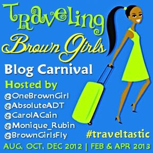 Travel Bucket List: Traveling Brown Girls Blog Carnival Badge
