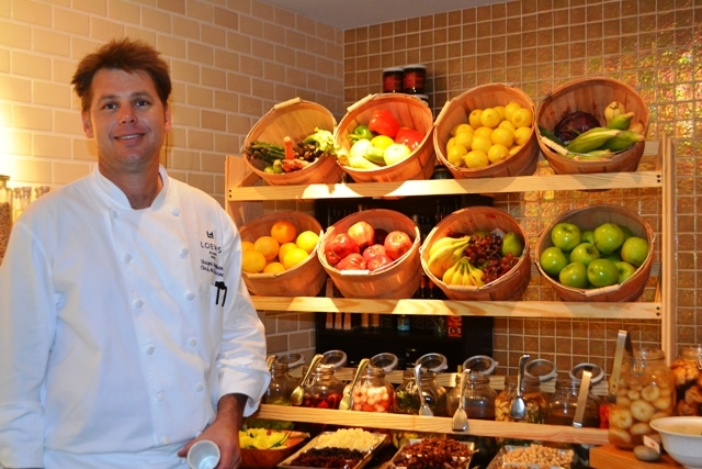 Chef Vaughan at Eleven Restaurant in Loews Hotel Atlanta