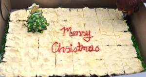 Seniors Christmas Dinner: Jamaican Christmas Cake