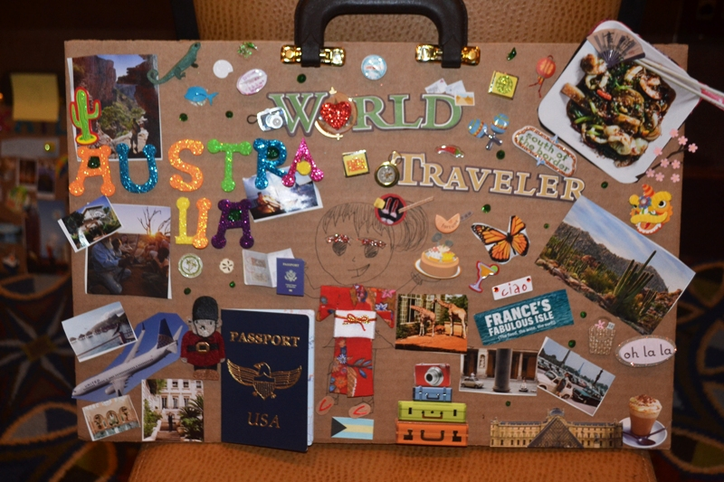 Atlanta, Passport Party Project, Vision Board