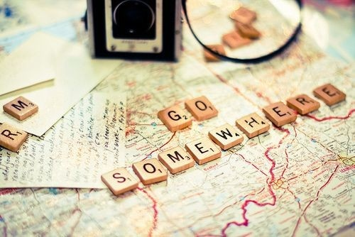 how to travel the world, go somewhere
