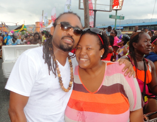 Jamaica Bacchanal 2013 Road March Janeen and Machal Montana