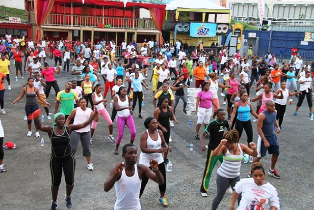 Jamaica Bacchanal 2013 Socarobics