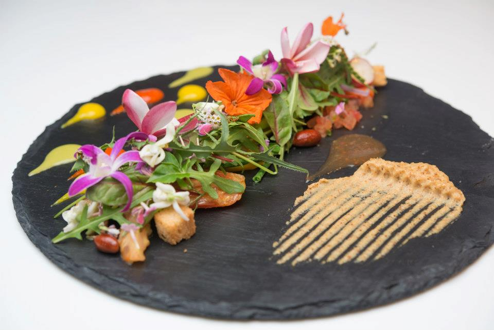 Aruba Travel Aruban Summer Salad from White Modern Cuisine