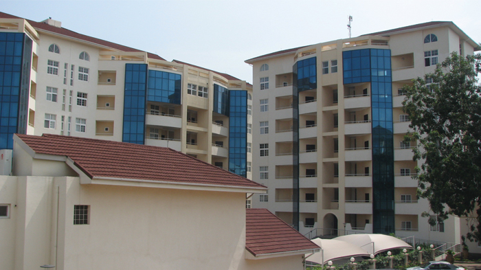 Apartment Complex in Accra Ghana