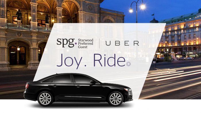 Earn Starpoints with Uber