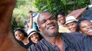 Selfwe at EITS Cafe Blue Mountains Jamaica